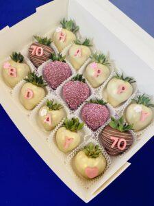 Custom Birthday Box - 70 Lady
