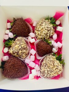 mini nutty chocolate